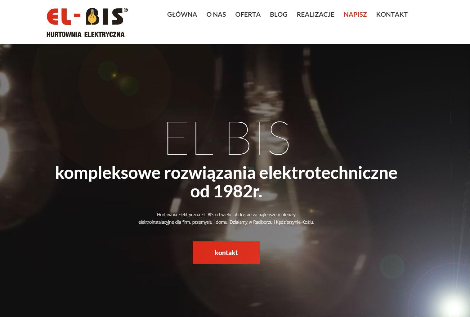Nowa odsłona www.el-bis.pl