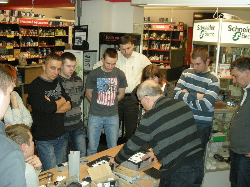 Szkolenia w Hurtowni Elektrycznej EL-BIS