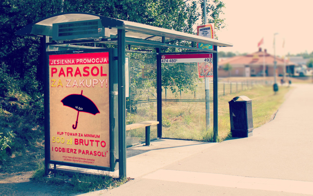 Parasol za zakupy!