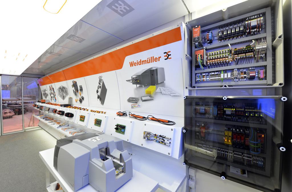 Samochód Weidmüllera pełen nowości w Hurtowni Elektrycznej EL-BIS